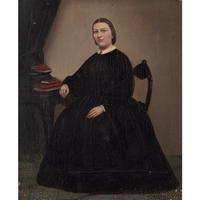 19th Century Swedish School Portrait Of Maria Birgitta, Oil Painting (2 of 10)