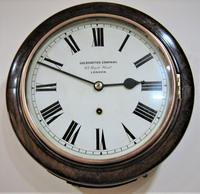 "Fabulous 1920 German 10"" Dial Timepiece by W&H (8 of 8)"