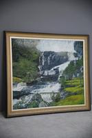 Large Waterfall Oil Painting (6 of 20)