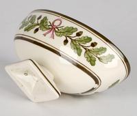 Wedgwood Etruria Acorn Pattern Creamware Pottery Salt 1882 (2 of 11)