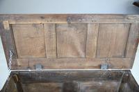 Antique 18th Century Oak Coffer (5 of 12)