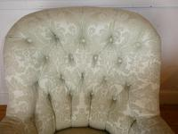 19th Century Upholstered Arm Chair (3 of 10)