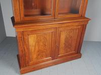 Antique George IV Mahogany 2 Door Cabinet Bookcase (10 of 13)