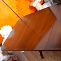 Dining Table & 8 Chairs Mahogany 3.2 Metres Long Hepplewhite Stalker (5 of 16)