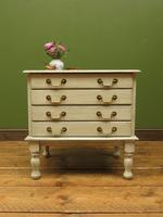 Small Gustavian Style Painted Chest, Crafting Chest of Drawers (3 of 15)