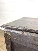 Antique 18th Century Carved Oak Coffer (10 of 10)