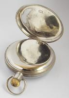 Antique Silver Waltham Bond Street Pocket Watch (3 of 5)