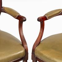 Six Edwardian Mahogany Chairs by Gill & Reigate (6 of 7)