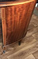 Edwardian Inlaid Mahogany Kidney Shaped Desk (17 of 21)