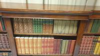 Victorian Mahogany Breakfront  Open Library Bookcase (4 of 7)