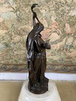 Stunning Large Bronze Group 'Gloria Patriae' by Eugene Marioton (7 of 9)