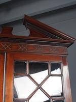 Antique George III Mahogany Bureau Bookcase (6 of 12)