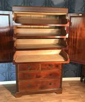 Edwardian Inlaid Mahogany Linen Press (10 of 13)