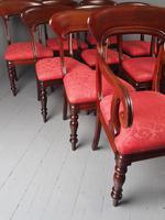 Set of 12 Scottish Mahogany Dining Chairs (9 of 18)