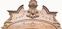 Victorian French Solid Elm Bed Frame (4 of 8)