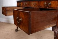 Carved Walnut Writing Desk (2 of 12)