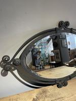 Art Deco Wrought Iron Mirror (2 of 5)