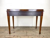 Victorian Two Drawer Mahogany Side Table (13 of 13)