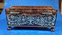 English Boulle & Brass Kingwood Edged Jewellery Box (12 of 16)