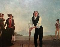 Large Fine Quality Vintage Cricket Cricketing Print - 18thc Georgian Manner (7 of 13)