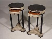Attractive Pair of Early 20th Century Continental Lamp Tables (2 of 5)