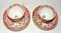 Pair of Hilditch Porcelain Cups & Saucers (6 of 6)