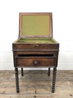Early 19th Century Oak Box on Stand (9 of 12)