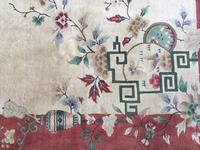 Antique Chinese Art Deco Carpet (7 of 12)