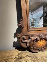 Carved Oak Mirror (3 of 7)
