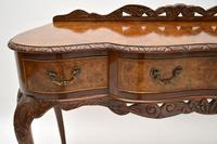 Queen Anne Style Burr Walnut Server Table c.1930 (9 of 12)