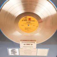 Original Crash Landing Jimi Hendrix Gold Disc Reprise Records (2 of 6)