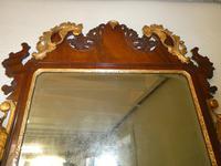 English 18th Century Mahogany & Gilt Mirror (3 of 9)