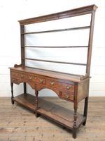 18th Century Welsh Oak Pot Board Dresser (9 of 10)