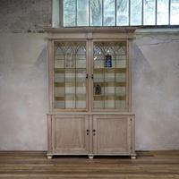 19th Century Gothic Bleached Pine Cabinet - Bookcase (2 of 15)