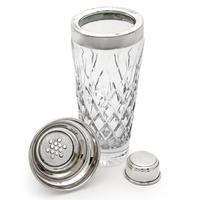 Oversized Vintage Cut Glass & Silver Plated Cocktail Shaker (2 of 2)