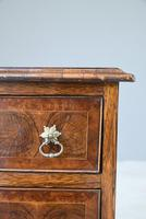 Walnut Oyster Veneer Chest of Drawers (6 of 12)