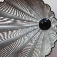 Silver & Enamel Norwegian Shell Brooch (7 of 9)