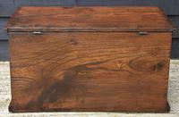 Lovely 19th Century Elm Box / Chest / Blanket Box c.1830 (12 of 13)