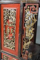 Quite Rare Pair of Late 19th Century Oriental Tall Stands (4 of 5)