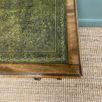Stunning Victorian Arts & Crafts Walnut Antique Desk (7 of 8)