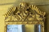 Beautiful 18th Century Carved Giltwood English Mirror (2 of 2)