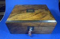 Victorian Walnut Jewellery Box (9 of 12)