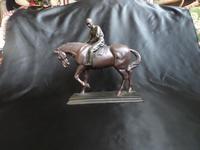 Fine Figurine of Horse & Jockey (2 of 5)