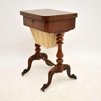 Antique Victorian Walnut Games / Chess Table (5 of 12)