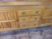 """Large Oak """"Foxman"""" Sideboard (2 of 11)"""