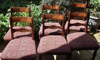 Good Set of Six Late Georgian Mahogany Dining Chairs (10 of 10)