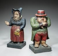 Pair of Mid 19th Century Polychrome Figures (4 of 5)