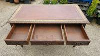 Quality Victorian Oak Writing Desk (9 of 12)