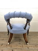 Victorian Mahogany Barley Twist Chair (10 of 10)