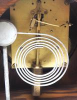 Good Art Deco Oak Mantel Clock – Striking 8-day Arched Top Mantle Clock (9 of 9)